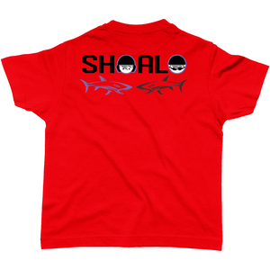SHOALO I Love Water Polo GB Flag - Children's / Kid's T-Shirt - Back