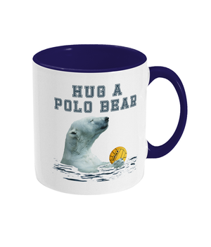 SHOALO Hug A Polo Bear - Two Toned Mug