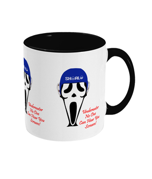 SHOALO Scary - Two Toned Mug - Black