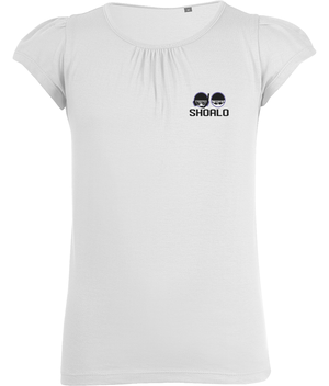 SHOALO UWH Head Logo - Girl's T-Shirt / Tee - White - Front