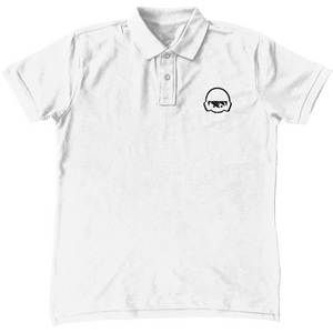 SHOALO Embroidered Water Polo Head Logo - Unisex Polo Shirt
