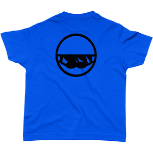 SHOALO Swim Swim Swim - Boy's T-Shirt / Tee - Blue - Back