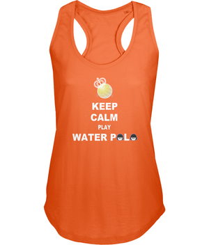 SHOALO Keep Calm Play Water Polo - Women's Vest / Top - orange