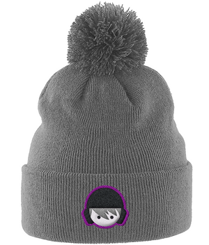 SHOALO Water Polo Head - Beanie With Pom Pom - Grey
