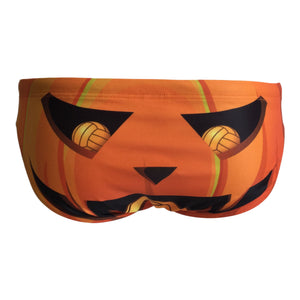 Back - SHOALO You Complete Pumpkin! - Men's WP Swim Briefs / Trunks