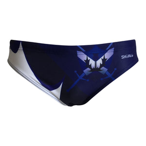 Front - SHOALO Scotland Thistle - Men's WP Swim Briefs / Trunks