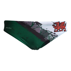Front - SHOALO Wales - Men's WP Swim Briefs / Trunks