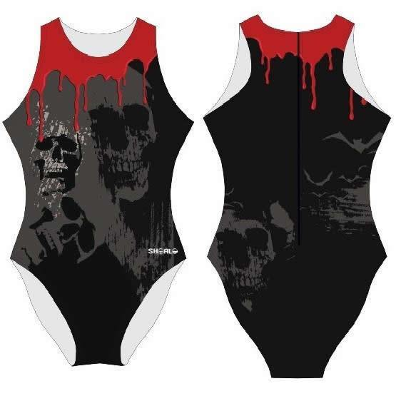 SHOALO Blood - Womens Suit - Water Polo