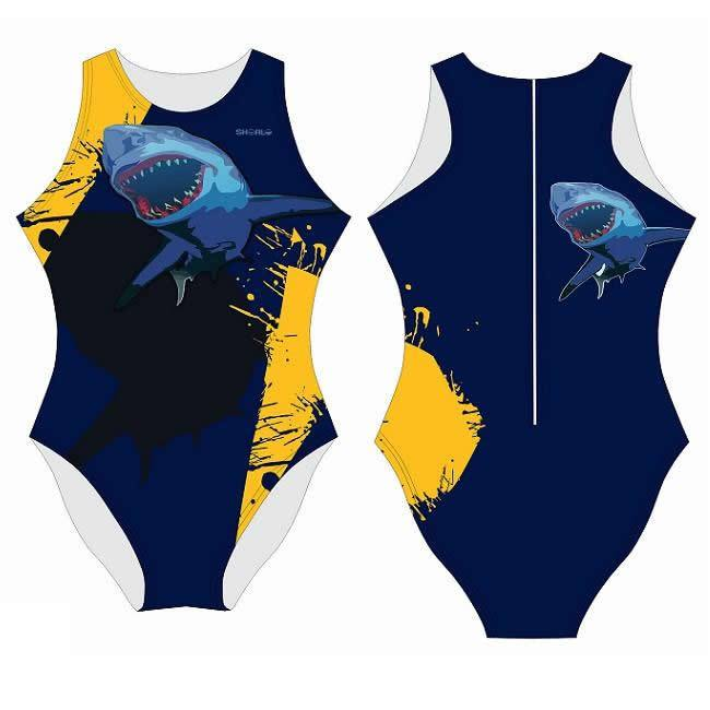SHOALO Shark - Womens Water Polo Suits / Costume
