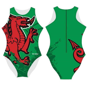 SHOALO Wales - Womens Water Polo Suits / Costume