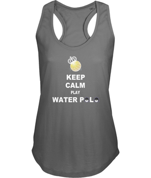 SHOALO Keep Calm Play Water Polo - Women's Vest / Top - grey