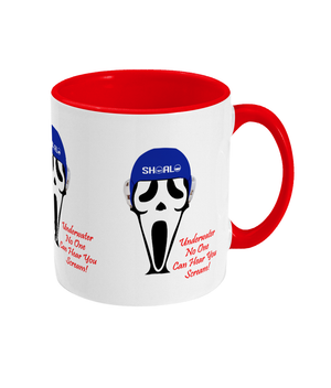 SHOALO Scary - Two Toned Mug - Red