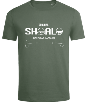 SHOALO Original - Men's T-Shirt / Tee - Front - Army