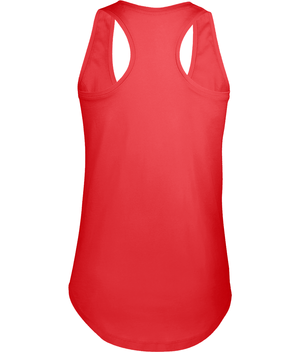 SHOALO Keep Calm Play Water Polo - Women's Vest / Top - red - back