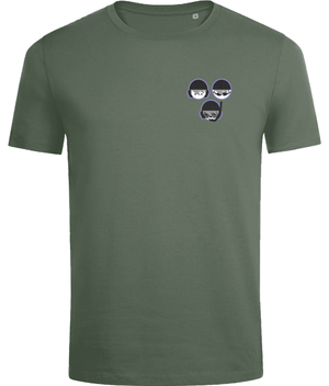SHOALO Shapes - Men's T-Shirt / Tee - Army - Front