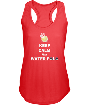 SHOALO Keep Calm Play Water Polo - Women's Vest / Top - red