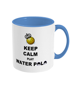 SHOALO Keep Calm and Play Water Polo -Two Toned Mug