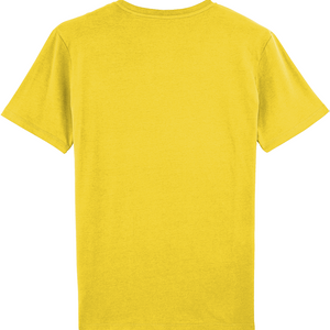 SHOALO VARSITY - MEN'S T-SHIRT / TEE - Yellow - back