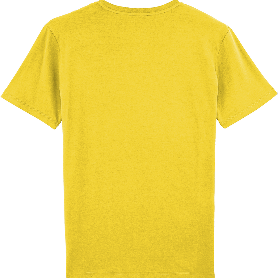 SHOALO VARSITY - MEN'S T-SHIRT / TEE - Yellow - front