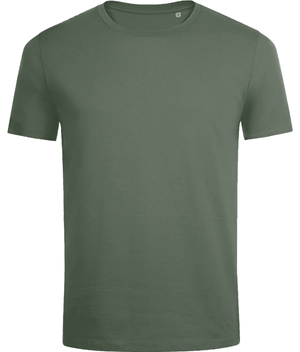 SHOALO Original - Men's T-Shirt / Tee - Back - Army