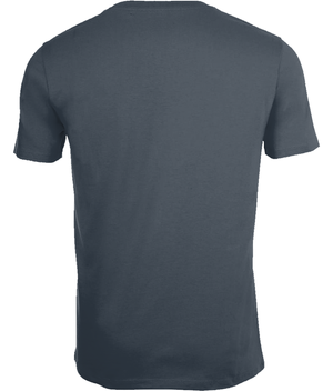 SHOALO Word Cloud - Men's T-Shirt / Tee - Grey - Back