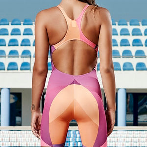 SHOALO - Team Uniform - Womens Kneeskin Swimsuit / Swimming Costume - Photo