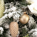 Wood Pinecone Ornament