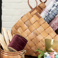 Woven Wicker Basket Set