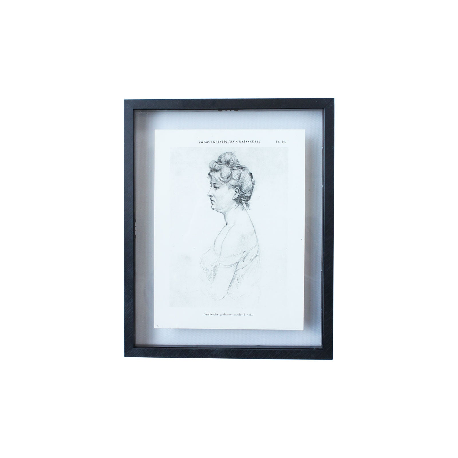A Woman's View Vintage Sketch Art II