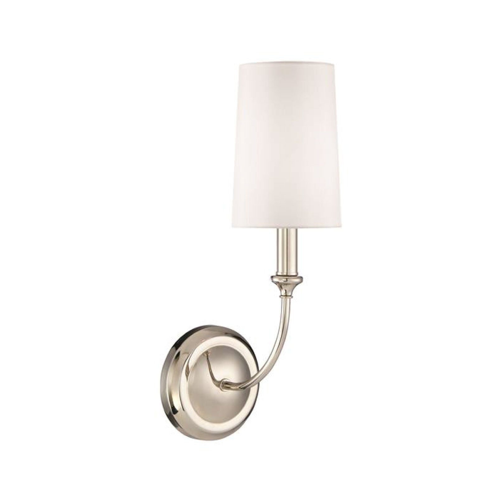 Abrams Sconce in Nickel