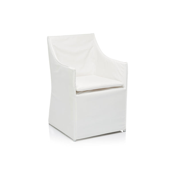 Alexandra Outdoor Slipcover Dining Chair