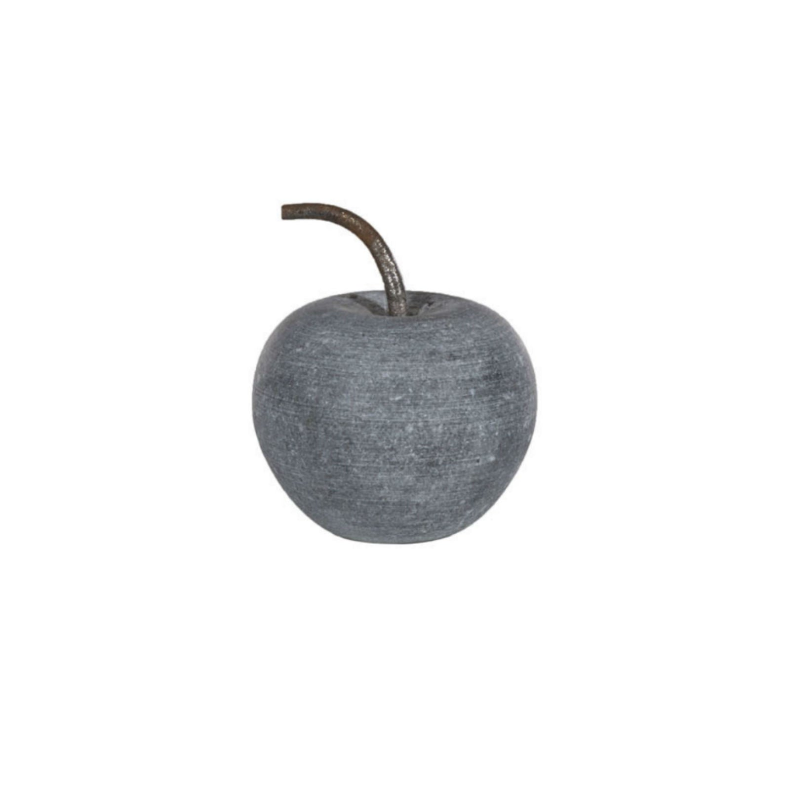 Gray Marble Apple no. 1