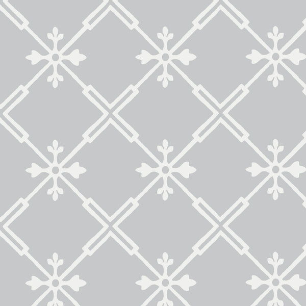 Audrey Fabric in Stone Grey