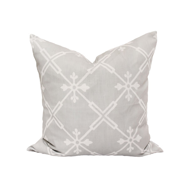 Audrey Pillow in Stone Grey