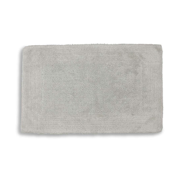 Bamboo Bath Rug in Grey