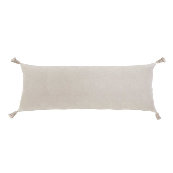 Chester Lumbar Pillow in Pale Pink