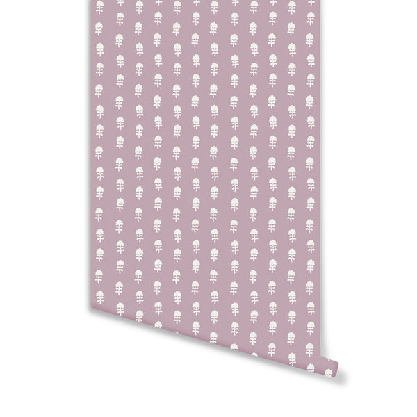 Birdie Wallpaper in Lilac