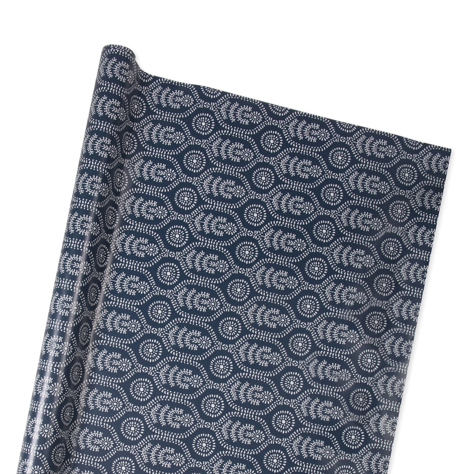 Ella Wrapping Paper in Midnight Blue