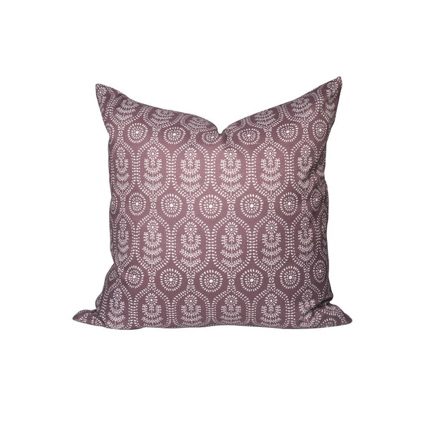Ella Pillow in Cranberry