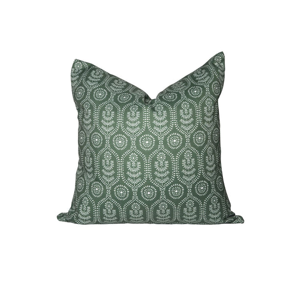 Ella Pillow in Evergreen