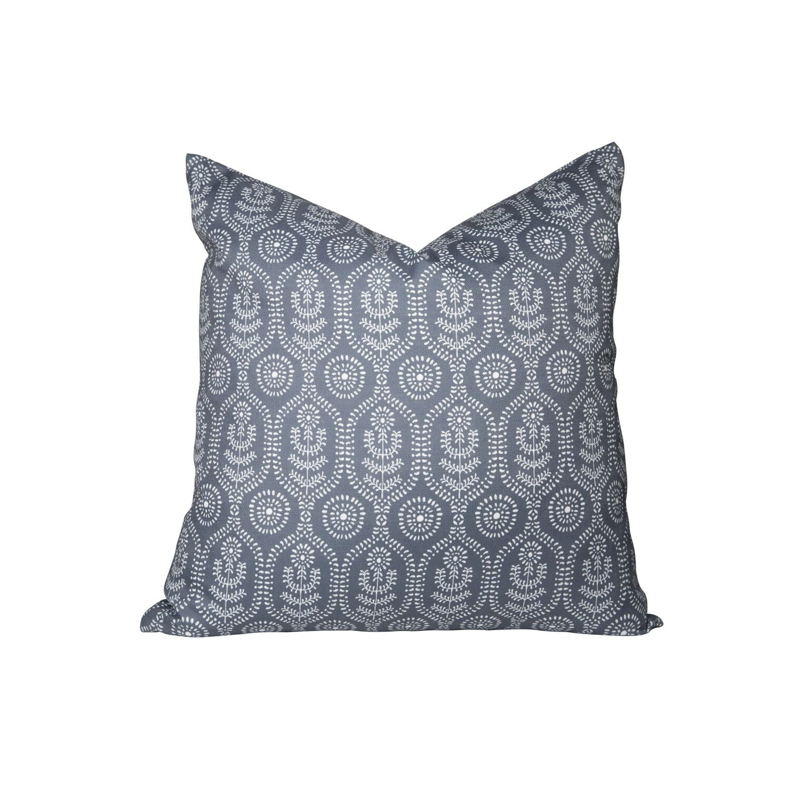 Ella Pillow in Midnight Blue