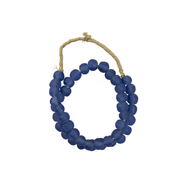 Blue Glass Beads