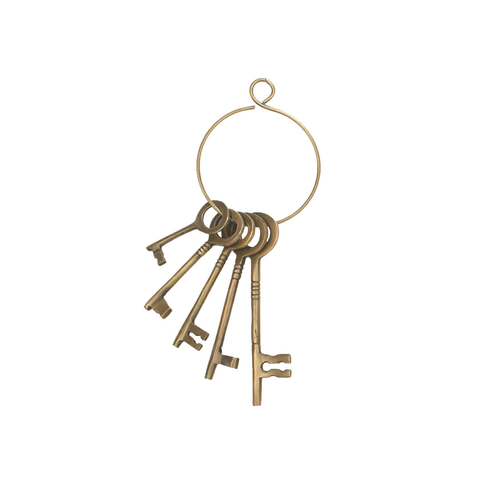 Brass Sailor Keys