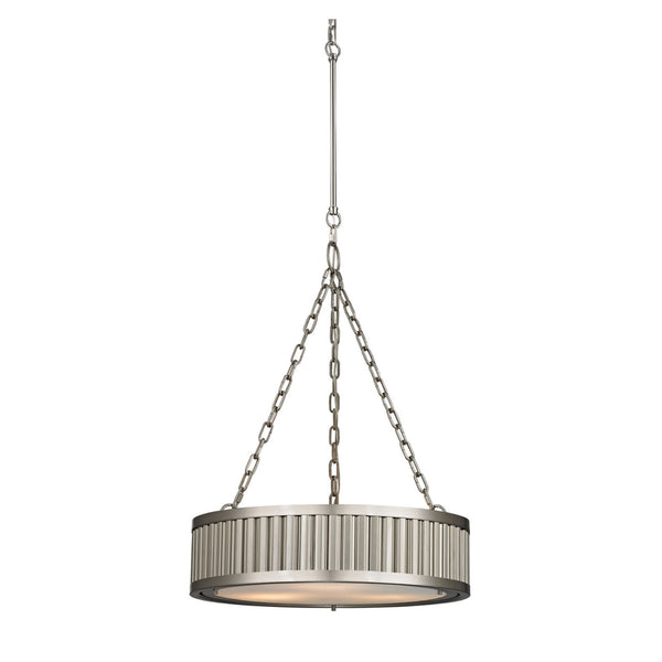 Brentwood Chandelier in Brushed Nickel