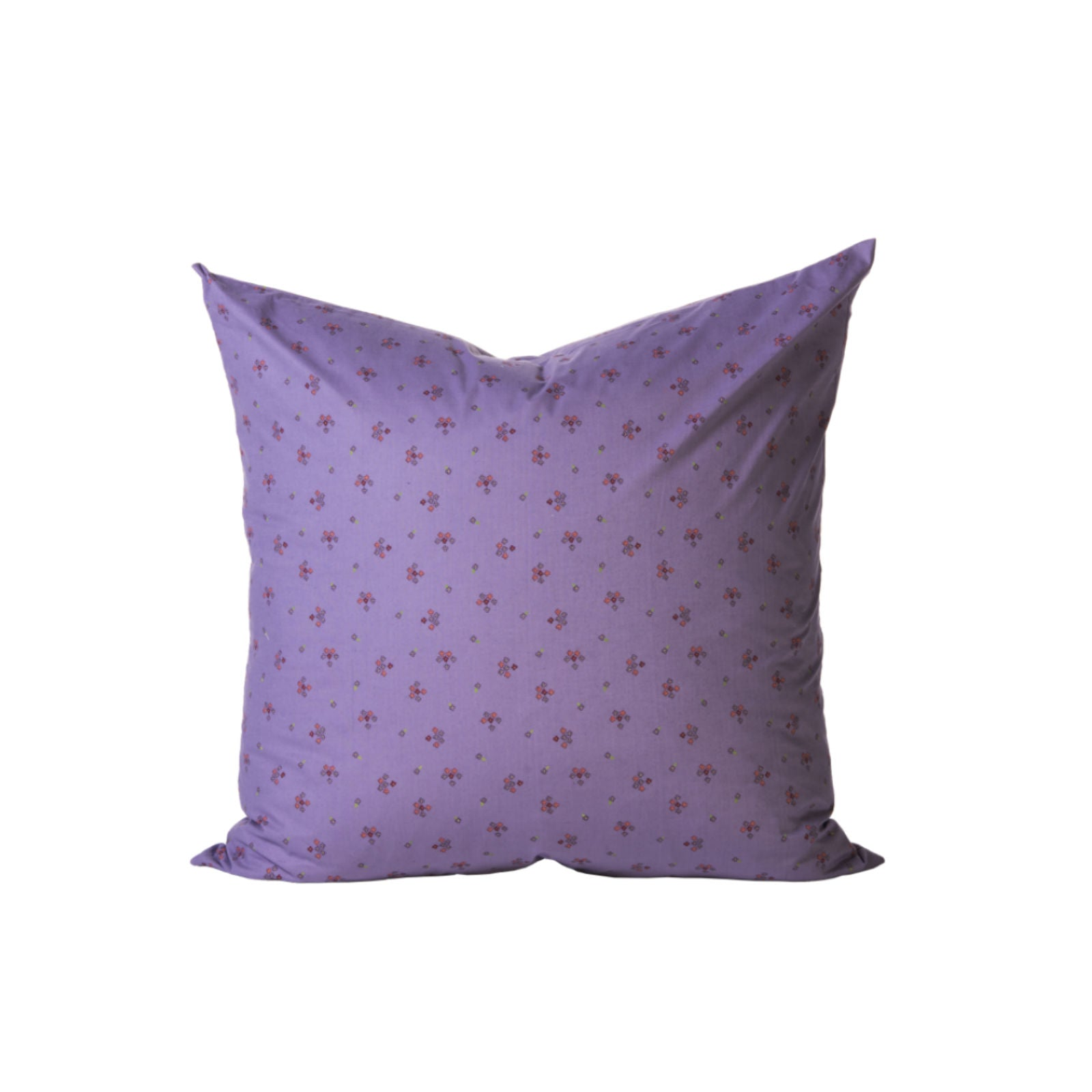 Lavender Floral Pillow