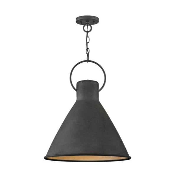 Brooks Pendant in Black
