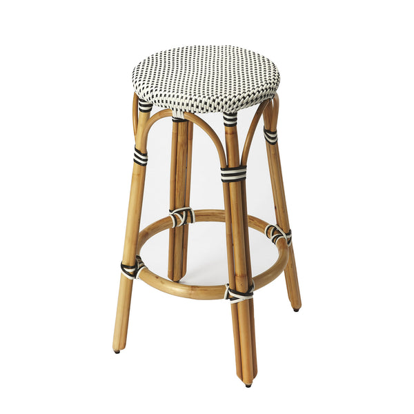 Cabana Backless Counter Stool in Navy