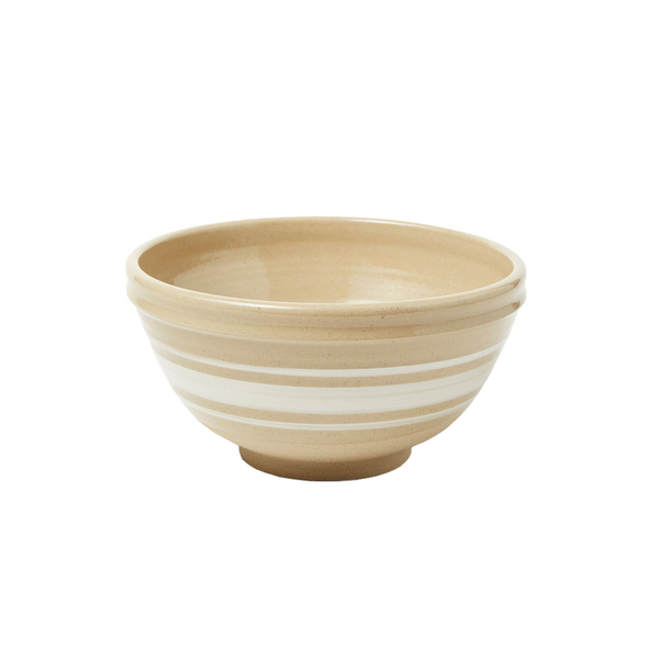 Medium Camel Stripe Bowl