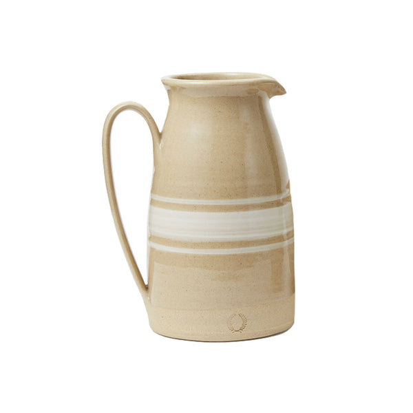 Camel Stripe Pitcher