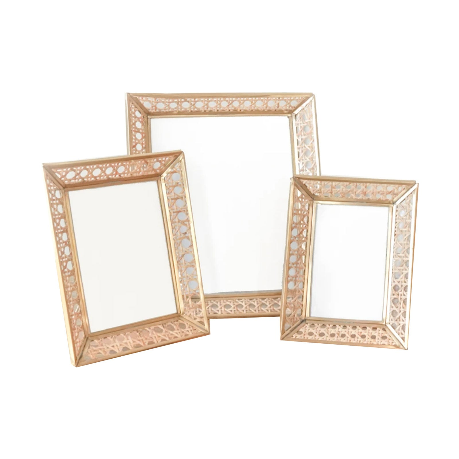 Caned Picture Frame